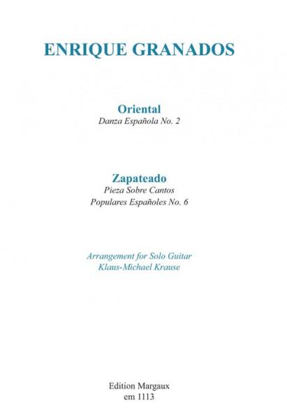 """Danza Española No. 2 """"Oriental"""" & Pieza Sobre Cantos Populares Españoles No. 6 """"""""Zapateado"""""""""""