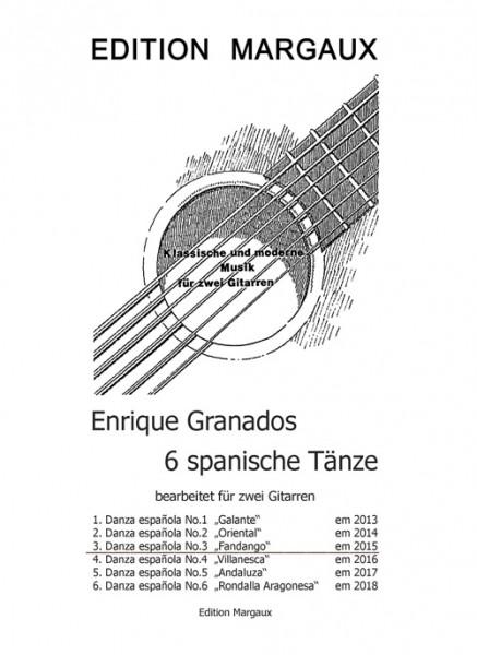 """Danza española No. 3  """"""""Fandango"""""""""""