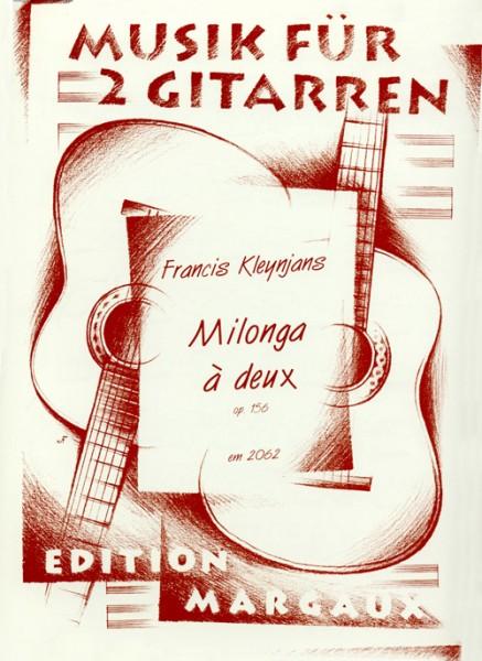 Milonga à deux op. 156