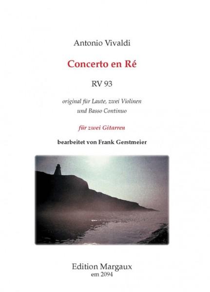 Concerto en Ré RV 93
