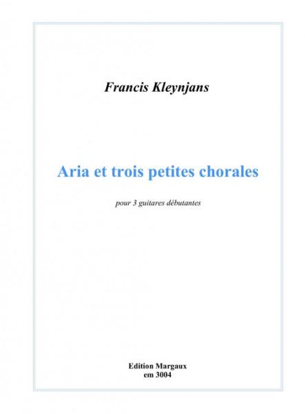 Aria et trois petites chorales