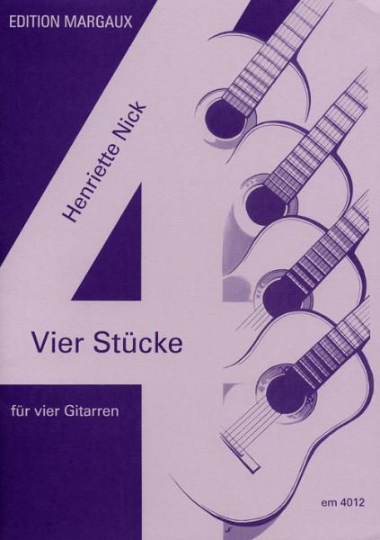 Vier Stücke für vier Gitarren