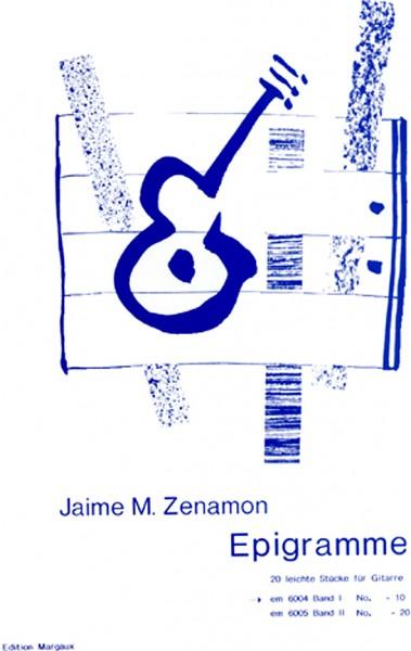 Epigramme, Band 1