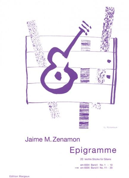Epigramme, Band 2