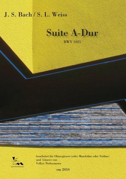 Suite A-Dur (BWV 1025)