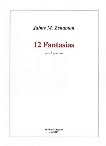 12 Fantasias für 2 Gitarren