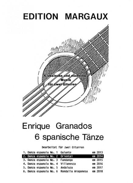 """Danza española No. 2  """"Oriental"""""""