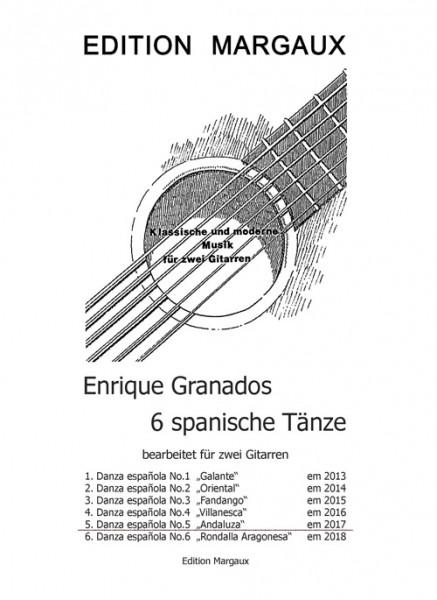 "Danza española No. 5  ""Andaluza"""